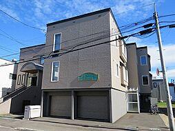 北海道札幌市中央区南十三条西8丁目の賃貸アパートの外観