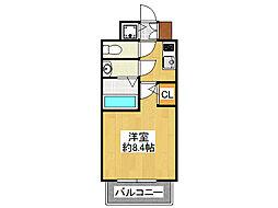 サムティ本町AGE[3階]の間取り