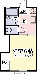 伊野ハイツ[2階]の間取り