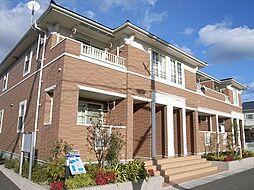 福岡県古賀市天神4の賃貸アパートの外観