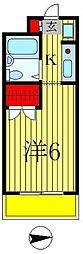 モンシャトー松戸2[4階]の間取り
