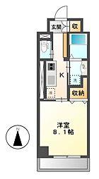 メゾン ミール[5階]の間取り
