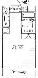 東京都北区東十条6の賃貸マンションの間取り
