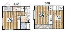[テラスハウス] 東京都昭島市昭和町5丁目 の賃貸【東京都 / 昭島市】の間取り