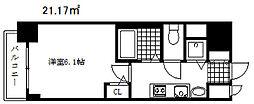 プレサンス神戸西スパークリング[5階]の間取り