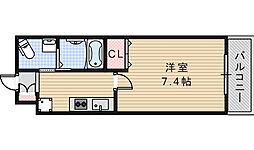 Marks昭和町[1102号室]の間取り