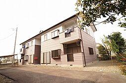 群馬県高崎市三ツ寺町の賃貸アパートの外観