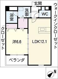 オリエント・コート[4階]の間取り