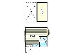 ベルヴュー高井戸[2階]の間取り
