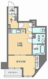 GRAN PASEO本郷三丁目(グランパセオ本郷三丁目) 6階1LDKの間取り