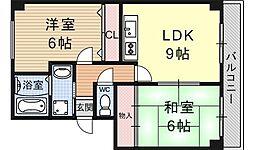K-FLAT MORE[207号室号室]の間取り