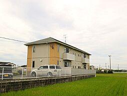 福岡県遠賀郡遠賀町大字広渡の賃貸アパートの外観