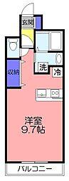 SKマンション[403号室]の間取り