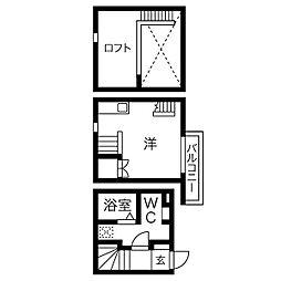 la casa felice[2階]の間取り