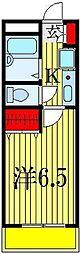 トップハイム西船[2階]の間取り