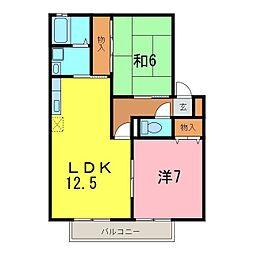 さくらHouse[1階]の間取り