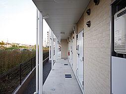 兵庫県加古川市尾上町口里の賃貸アパートの外観