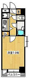 朝日プラザ久留米II[11階]の間取り