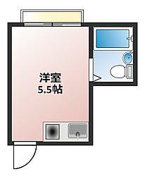 ブルーハイツ大栄[4C号室]の間取り