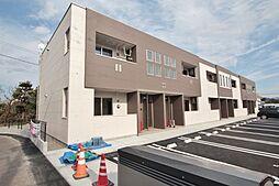 ロングアイランドヒルズマンションII[1階]の外観