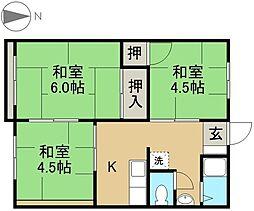 滝尾駅 3.8万円