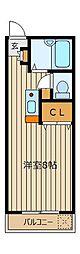 セイコーガーデンふじみ野[3階]の間取り