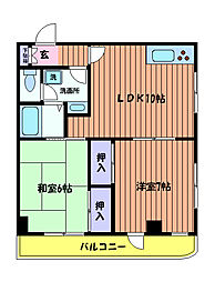 第2ともえビル[3階]の間取り