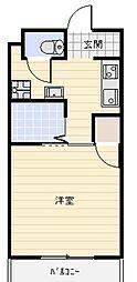 静岡県浜松市北区三幸町の賃貸マンションの間取り
