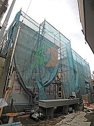 東京都新宿区南榎町の賃貸アパートの外観