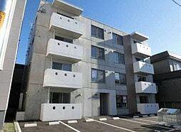 北海道札幌市北区新琴似三条6丁目の賃貸マンションの外観