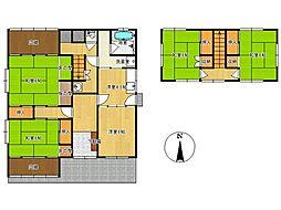 [一戸建] 長野県松本市浅間温泉1丁目 の賃貸【/】の間取り