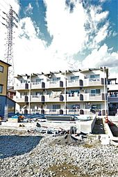 静岡県静岡市清水区石川新町の賃貸マンションの外観