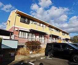 京都府八幡市男山金振の賃貸マンションの外観