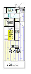 埼玉県八潮市大字大曽根の賃貸マンションの間取り