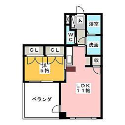 H.A.Y[2階]の間取り