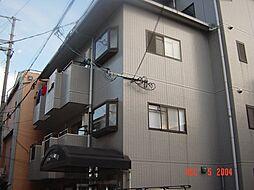 大阪府大阪市阿倍野区阪南町1丁目の賃貸マンションの外観