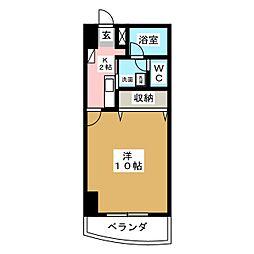 メゾンロイヤルかみとまつり[3階]の間取り