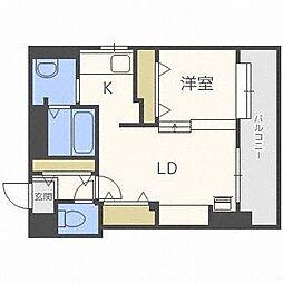 ピュア東彩館II[4階]の間取り