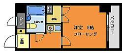 ライオンズマンション西八王子第3[8階]の間取り