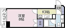 カーサミラ北寺島[601号室]の間取り