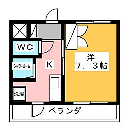 さなるサラダハウス[3階]の間取り