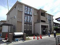 大阪府八尾市田井中2丁目の賃貸アパートの外観
