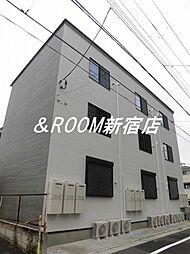 東京都江戸川区東小松川3丁目の賃貸アパートの外観