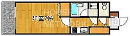 ライオンズマンション四条堀川[506号室号室]の間取り