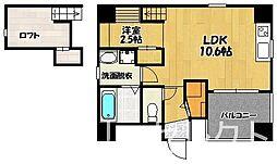 ルネスフォレスト博多[2階]の間取り