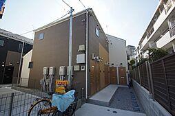 東京都大田区南雪谷1丁目の賃貸アパートの外観