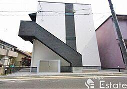 愛知県名古屋市南区豊田1の賃貸アパートの外観