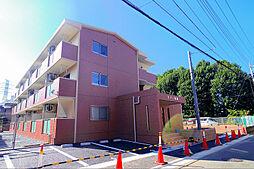 東京都東村山市青葉町3丁目の賃貸マンションの外観