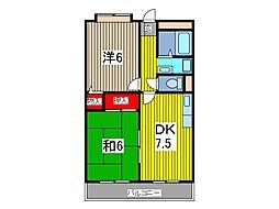 住友川口ハウス[8階]の間取り