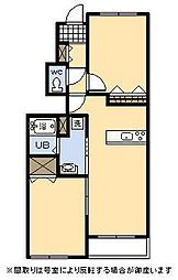 (新築)フェアリー[106号室]の間取り